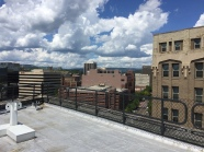 the view of downtown chattanooga from the edney rooftop. chattanooga, tennessee. august 2016.