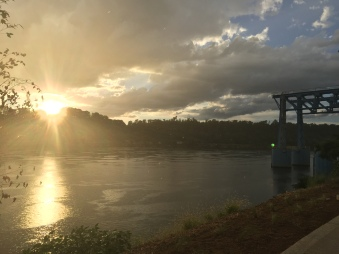 chattanooga sunsets. chattanooga, tennessee. august 2016.