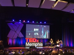 the view at tedx memphis. memphis, tennessee. august 2016.