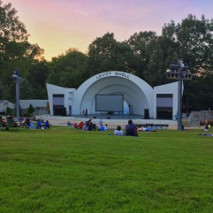 movie night at the levitt shell. memphis, tennessee. september 2016.