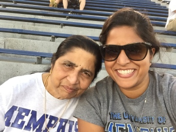 cheering on those tigers. memphis, tennessee. october 2016.
