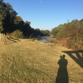 exploring the greenway. germantown, tennessee. october 2016.