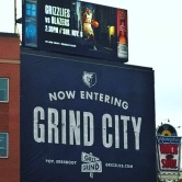 at the corner of grit and grind. memphis, tennessee. october 2016.