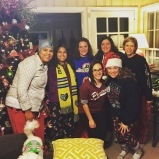 annual rhodes girls pajama party. memphis, tennessee. december 2016.