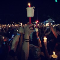 35before35: candlelight vigil at graceland.