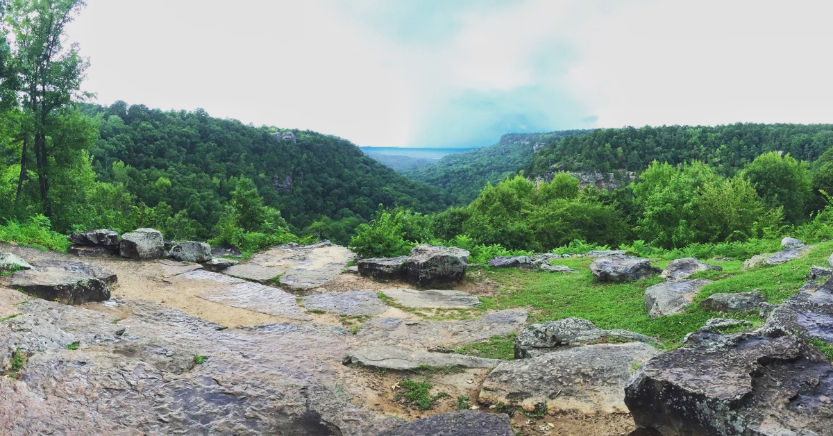 august 2018 hike: petit jean state park.
