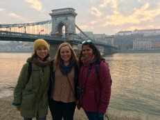 'cause we're the three best friends that anyone could have. budapest, hungary. november 2018.