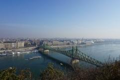 more views. budapest, hungary. november 2018.