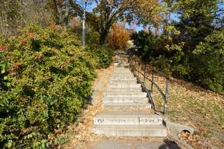 so many stairs! budapest, hungary. november 2018.
