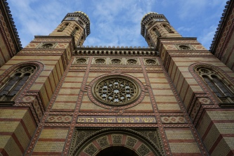 dohany street synagogue. budapest, hungary. november 2018.