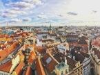 more clock tower views. prague, czech republic. november 2018.