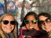 at the lennon wall. prague, czech republic. november 2018.