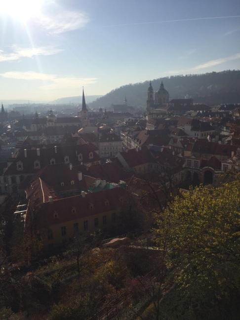 views of the city. prague, czech republic. november 2018.