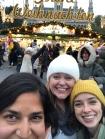 we found the superstar christmas market! vienna, austria. november 2018.