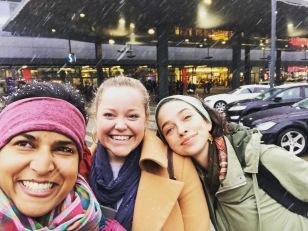 magical snow on our last day. vienna, austria. november 2018.